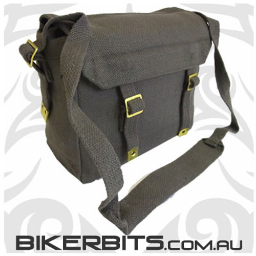 Classic Messenger Bag - Small - Olive