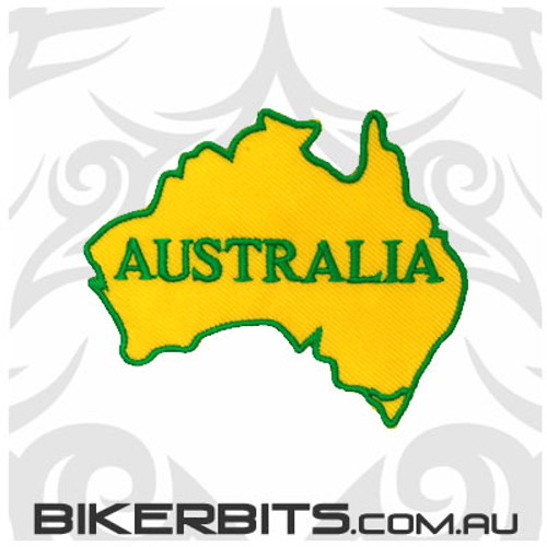 Patch - AUSTRALIA - Green & Gold