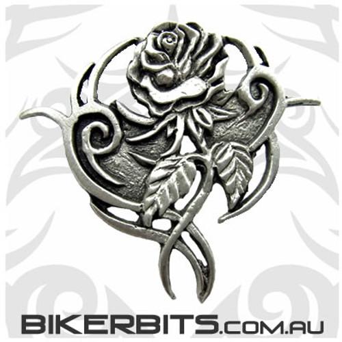 Lapel Pin - Tribal Rose