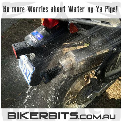 Motorcycle Exhaust/Muffler Wash Plug