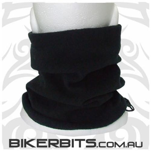 Headwear - Fleece Neck Warmer - Single Layer - Black