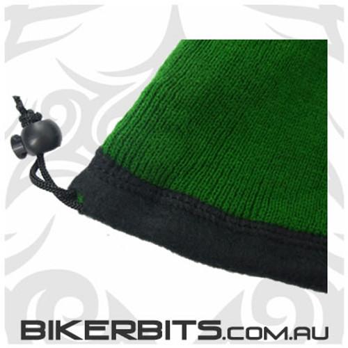 Headwear - Fleece Neck Warmer - Double Layer - Forest Green