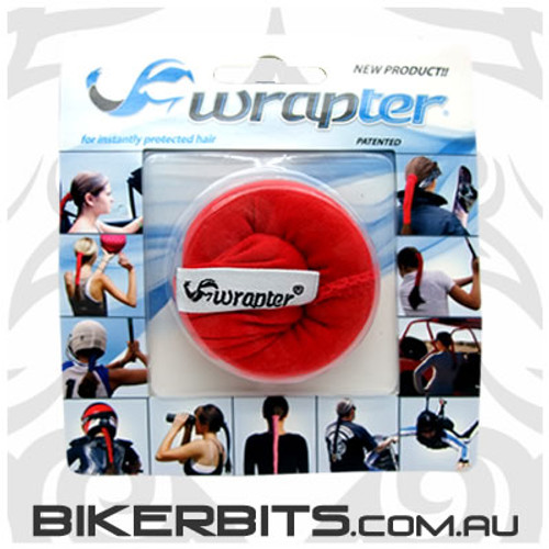 Headwear - Wrapter Hair Wrap - Paisley - Red
