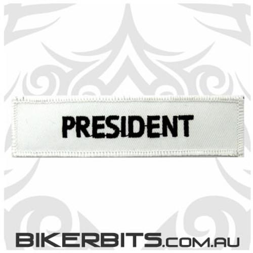 Patch - Biker Club PRESIDENT 1