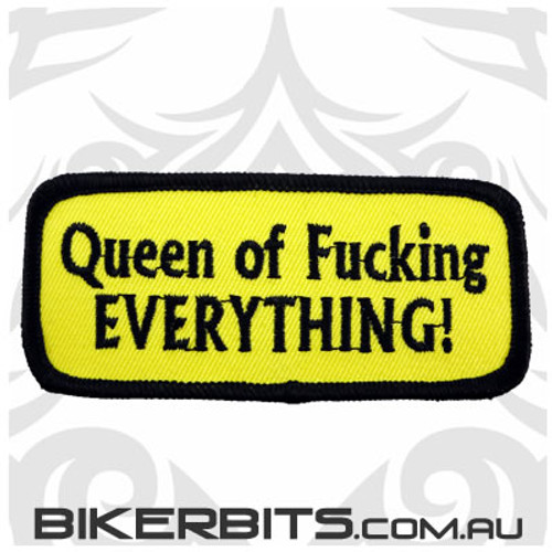Patch - Queen of Fucking Everything!