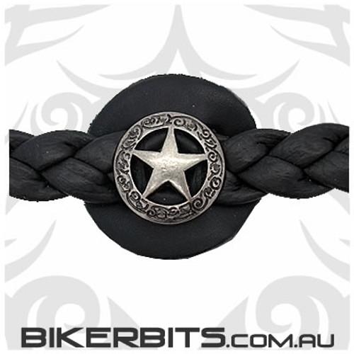 Vest Extender - Braided Leather - Western Star