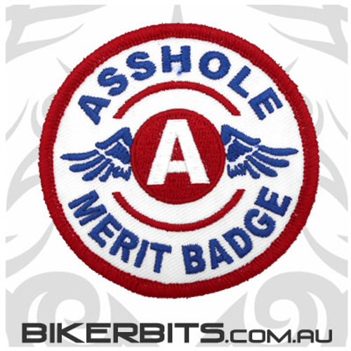 Patch - Asshole Merit Badge