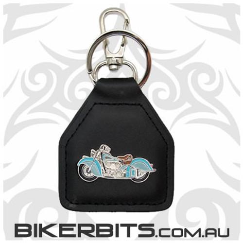 Keyring - Retro Cruiser Leather Key Fob