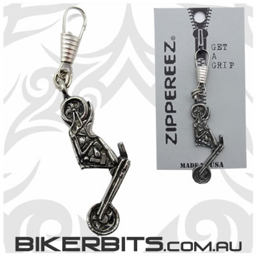 Zippereez Zipper Pull - Chopper