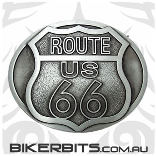 Belt Buckle - Route 66 US