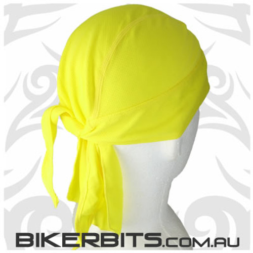 Headwear - Headwrap - Yellow - Stretchy