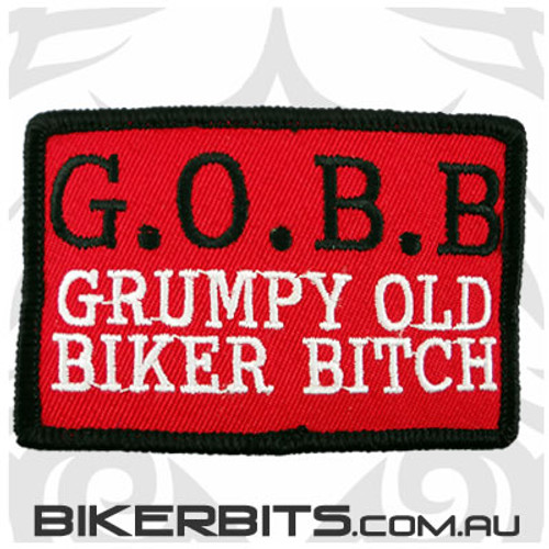 Patch - G.O.B.B Grumpy Old Biker Bitch