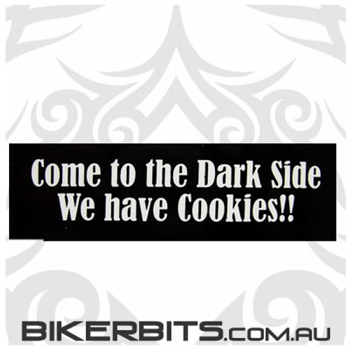Helmet Sticker - Come to the Dark Side