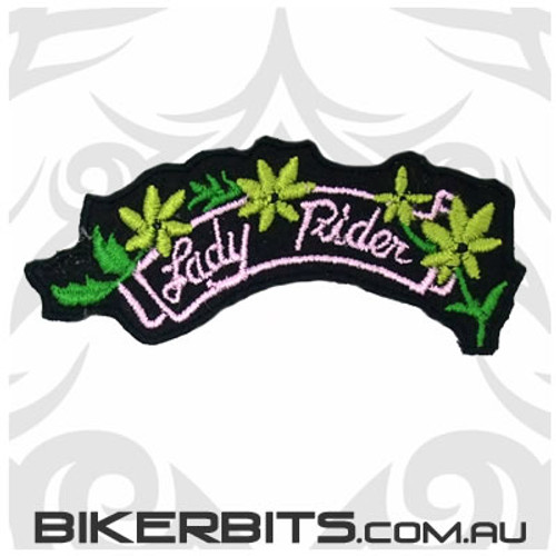 Patch - Lady Rider - Curve