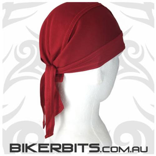 Headwear - Headwrap - Wine - Stretchy