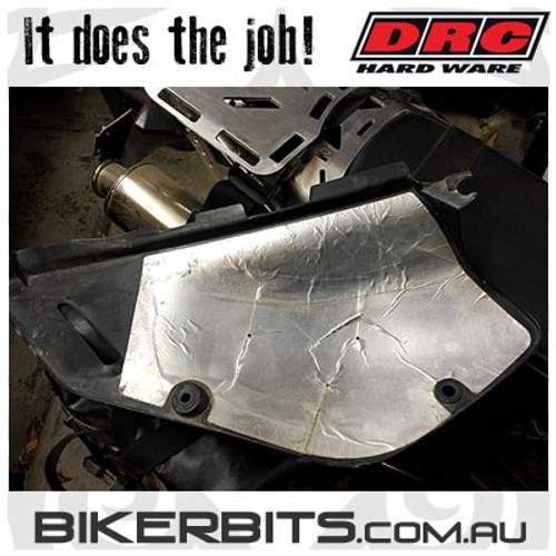 DRC - Motorcycle Heat Shield - Flexible