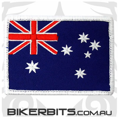 Patch - Australian Flag - White Border