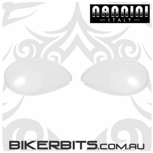 Motorcycle Goggles - Nannini - Streetfighter Clear Lenses