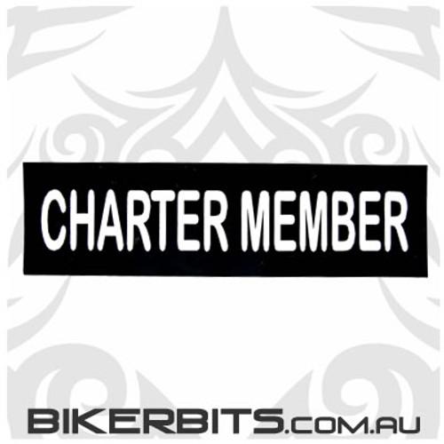 Helmet Sticker - Charter Member