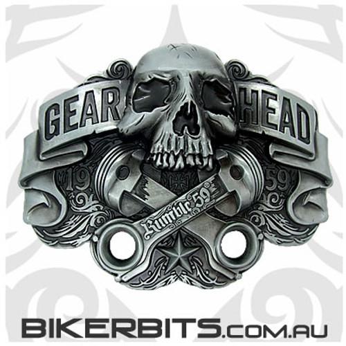 Belt Buckle - Gear Head