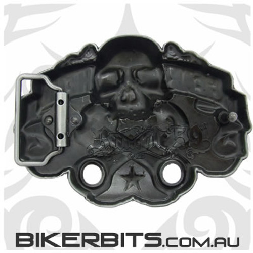 Belt Buckle - Gear Head