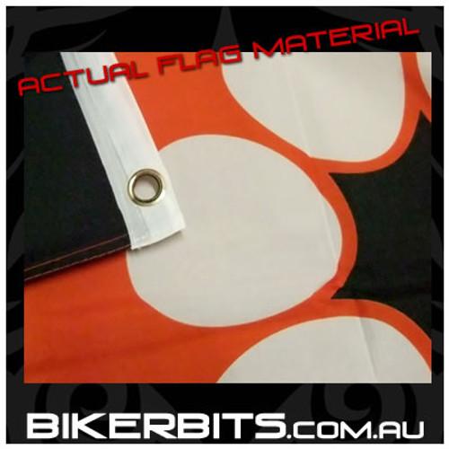 Biker Flag - NT - Northern Territory State Flag