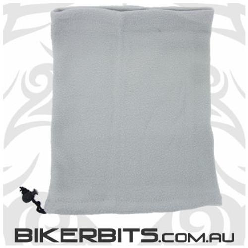 Headwear - Fleece Neck Warmer - Single Layer - Light Grey