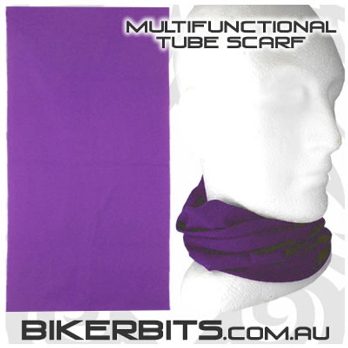 Headwear - Multifunctional Tube Scarf - Purple