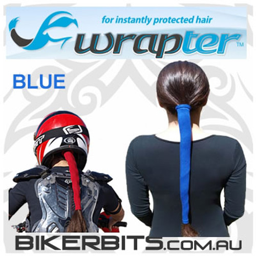 Headwear - Wrapter Hair Wrap - Blue