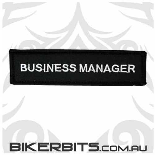 Patch - Biker Club BUSINESS MANAGER