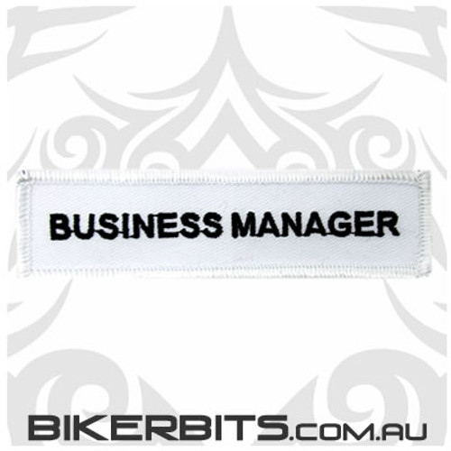 Patch - Biker Club BUSINESS MANAGER 1