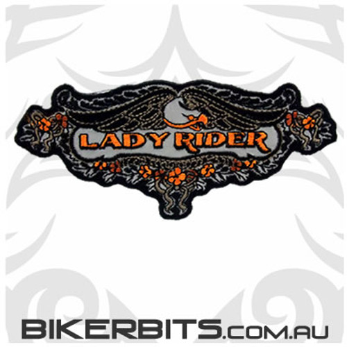 Patch Reflective - Lady Rider Lace Eagle