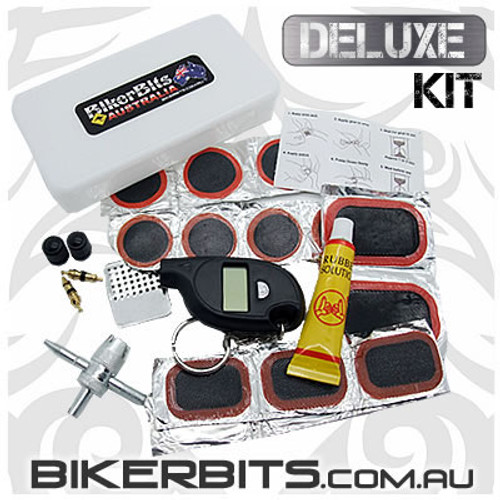 Motorcycle Tube Repair Kit - Deluxe