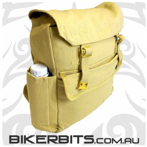Classic Backpack with Pockets - Khaki