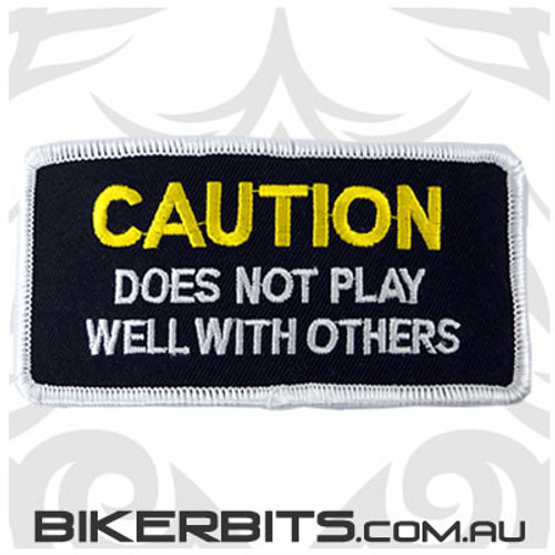 Patch - Caution Does Not Play Well With Others