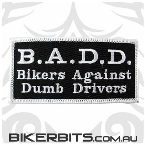 Patch - B.A.D.D Bikers Against Dumb Drivers