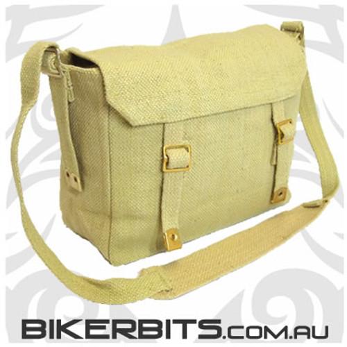 Classic Messenger Bag - Small - Khaki