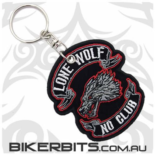 Keyring - Lone Wolf No Club