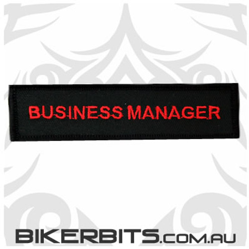 Patch - Biker Club BUSINESS MANAGER 2