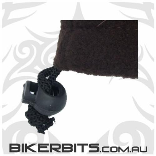 Headwear - Fleece Neck Warmer - Single Layer - Dark Brown