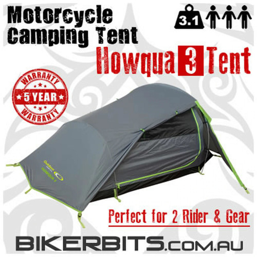 Motorcycle Camping Tent - Howqua 3
