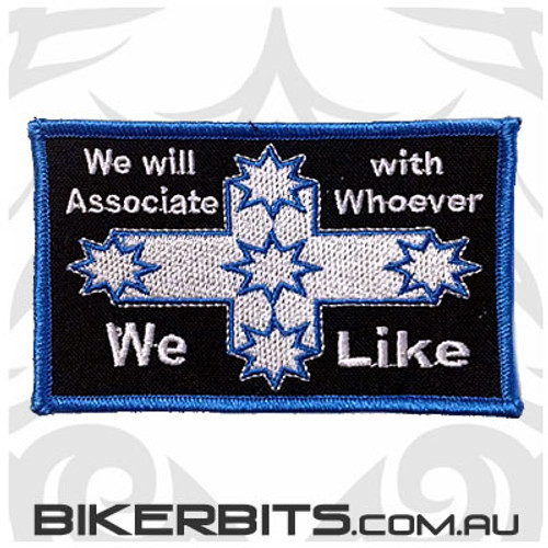 Patch - Eureka Flag - We Will Associate With Whoever