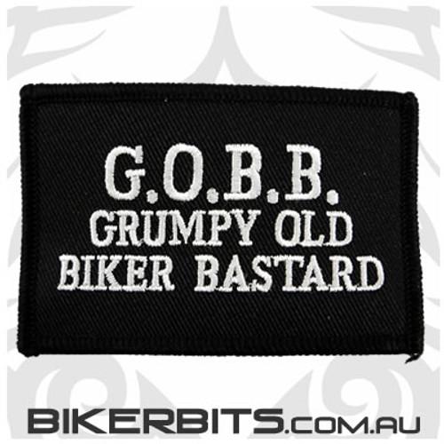 Patch - G.O.B.B Grumpy Old Biker Bastard