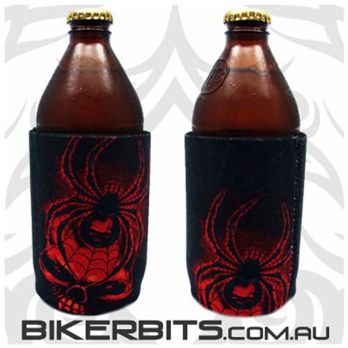 Stubby Holder - Redback Spider