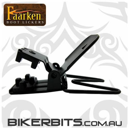Faarken Biker Boot Lickers - Iron Cross
