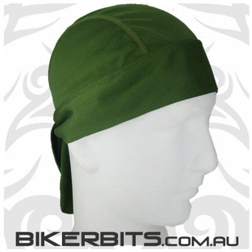Headwear - Headwrap - Green - Stretchy