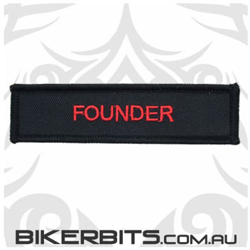 Patch - Biker Club FOUNDER