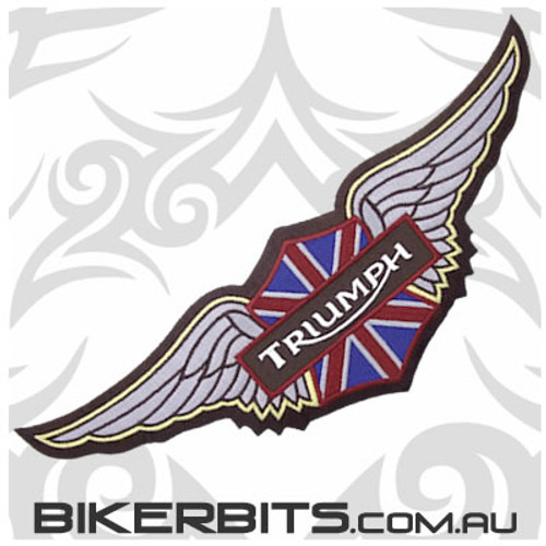 Patch - Triumph Wings - BROWN - Large