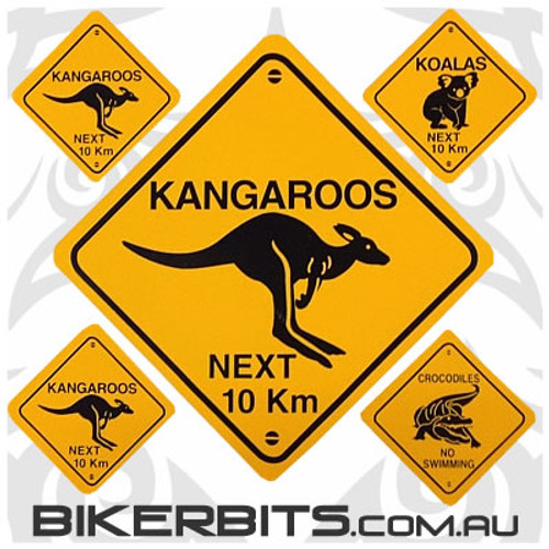 Biker Decal - Australian Road Signs
