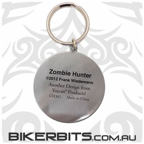 Keyring - Zombie Hunter Medallion